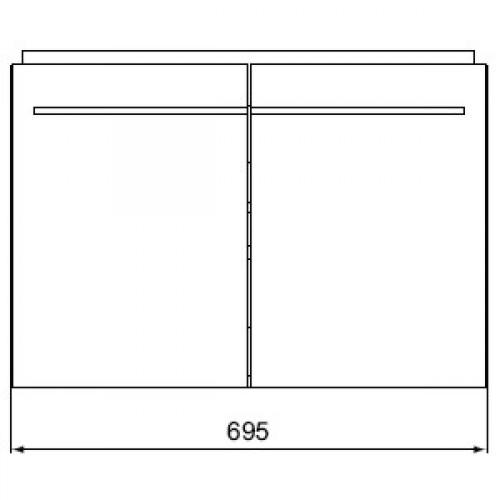 daylight waschtisch unterschrank. Black Bedroom Furniture Sets. Home Design Ideas