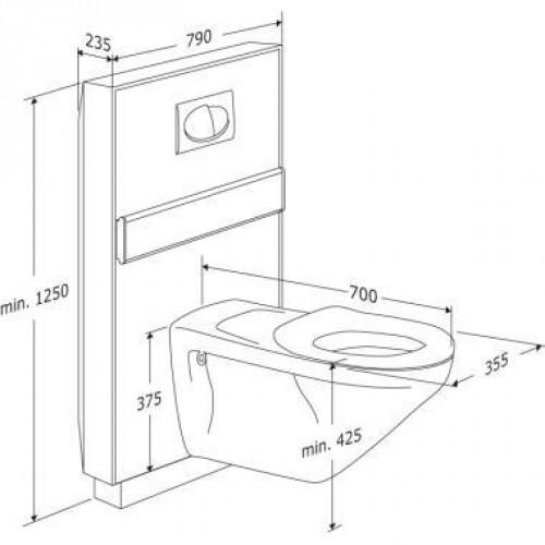 Höhe Wc pressalit care wc lifter wc keramik behindertengerecht