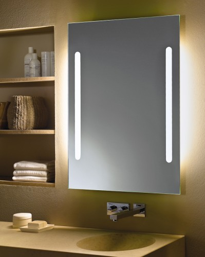 zierath spiegel lichtspiegel hinterleuchtet palino. Black Bedroom Furniture Sets. Home Design Ideas